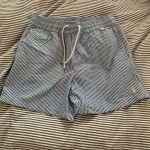 Polo by Ralph Lauren swim trunks men sz Small 5in